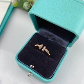 Tiffany & Co. - 最終お値下げ‼️ティファニー Tワイヤー リング