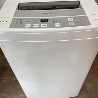 R37428 AQUA 全自動洗濯機 4.5kg AQW-S45EC