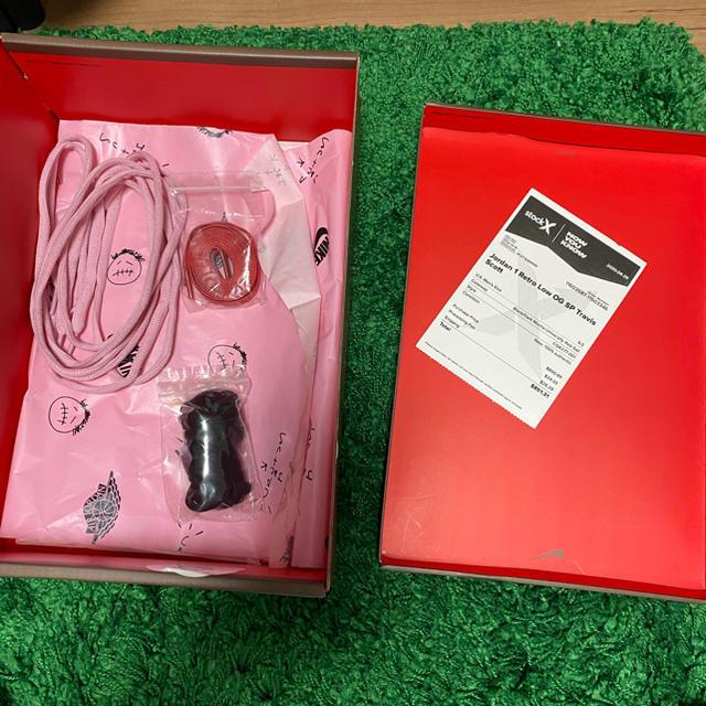 NIKE(ナイキ)のNIKE AIR JORDAN 1 LOW TRAVIS SCOTT メンズの靴/シューズ(スニーカー)の商品写真