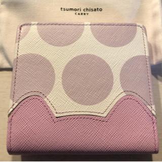 TSUMORI CHISATO - 【美品】ツモリチサト財布⭐︎ピンク猫 二つ折り