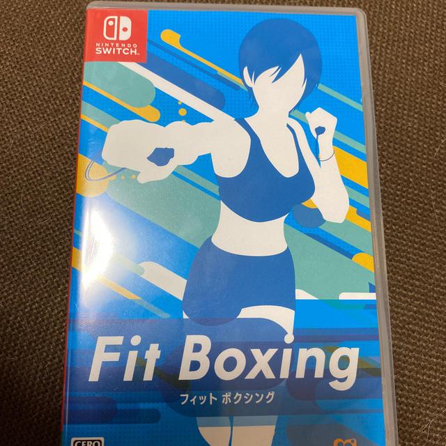 Switch フィットボクシング エンタメ/ホビーのゲームソフト/ゲーム機本体(家庭用ゲームソフト)の商品写真
