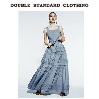 DOUBLE STANDARD CLOTHING - 定価38,500円★20AW新品 ダブルスタンダード Sov.ワンピース
