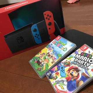 Nintendo Switch - switch❗️ソフト5本&ケース付き❗️はやいものがち!