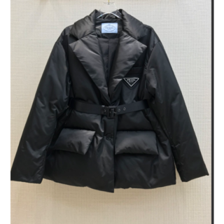 PRADA - [PRADA] ベルト付きダウンジャケット