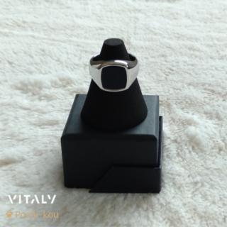 セール中 日本未入荷 Vitaly VAURUS リング 指輪 11号 銀色(リング(指輪))