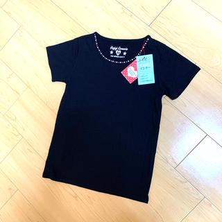 レピピアルマリオ(repipi armario)の❮新品❯レピピアルマリオ Tシャツ 黒(Tシャツ/カットソー)