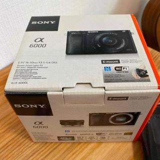 SONY - 週末特価 SONY α6000 ミラーレスボディ シルバー SDカード付き