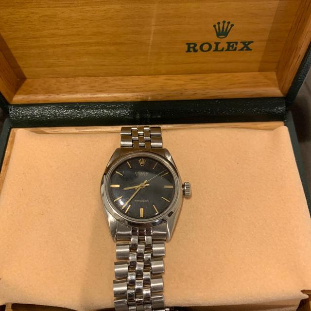 ROLEX(ロレックス)のロレックス オイスター 手巻きNo.6422 メンズの時計(腕時計(アナログ))の商品写真