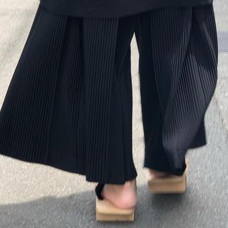 ISSEY MIYAKE - homme plisse issey miyake オムプリッセ 袴パンツ