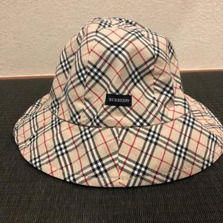 バーバリー(BURBERRY)のBURBERRY☆帽子☆リバーシブル(帽子)