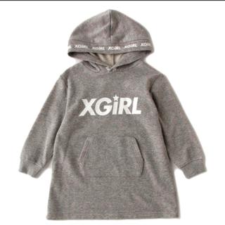 エックスガールステージス(X-girl Stages)のエックスガール パーカーワンピ(ワンピース)