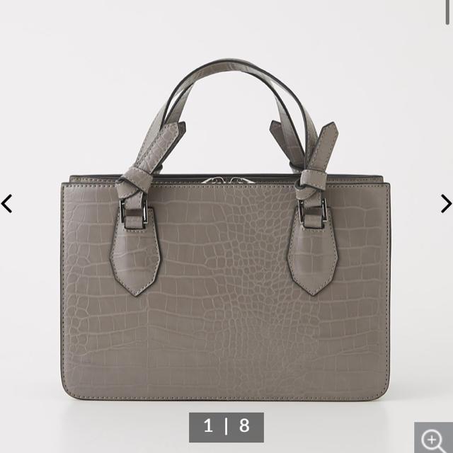 rienda(リエンダ)のEBLOA クロコライクコンパクトBAG レディースのバッグ(ショルダーバッグ)の商品写真