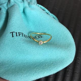 Tiffany & Co. - TIFFANY&Co. シングルロウリング ダイヤモンド YG7号
