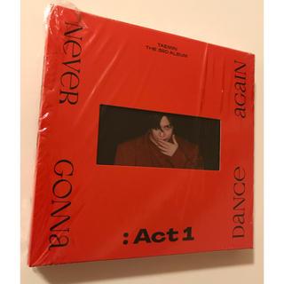 シャイニー(SHINee)のテミン  TAEMIN ACT1 CD(K-POP/アジア)