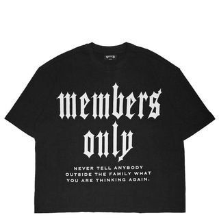値下げ BAD HOP MEMBERS ONLY tee(Tシャツ/カットソー(半袖/袖なし))