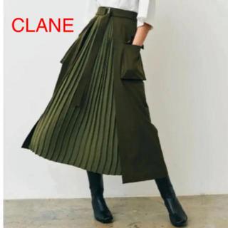 STUDIOUS - clane ミリタリープリーツドッキングスカート 2