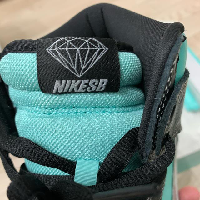NIKE(ナイキ)のnike sb dunk hight tiffany ダンクsb メンズの靴/シューズ(スニーカー)の商品写真