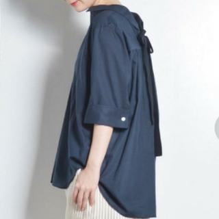 ルカ(LUCA)のLUCA ネイビーシャツ(シャツ/ブラウス(長袖/七分))