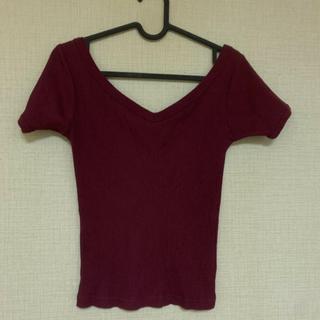 スライ(SLY)のオフショル(Tシャツ(半袖/袖なし))