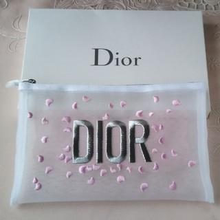 ディオール(Dior)のDior ♡ ノベルティ  メッシュポーチ(ノベルティグッズ)