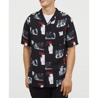 エイチアンドエム(H&M)の【新品未使用】H&M エイチアンドエム SCARFACE スカーフェイス シャツ(シャツ)