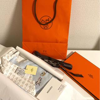 エルメス(Hermes)の新品 未使用 エルメス スタイ(ベビースタイ/よだれかけ)