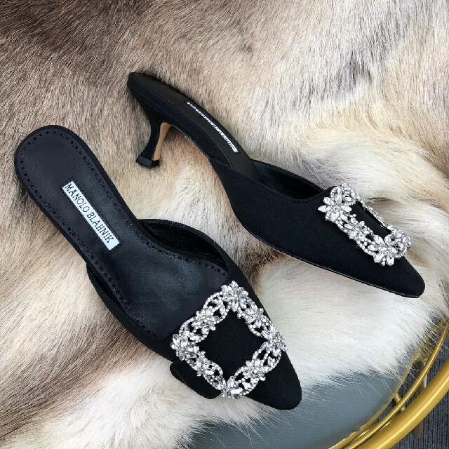 MANOLO BLAHNIK(マノロブラニク)のマノロ・ブラニク レディースの靴/シューズ(サンダル)の商品写真