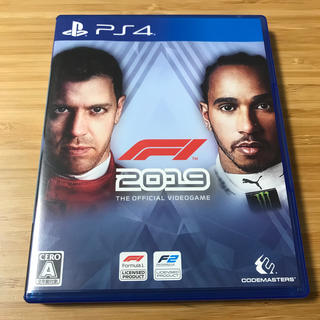 F1 2019 PS4(家庭用ゲームソフト)