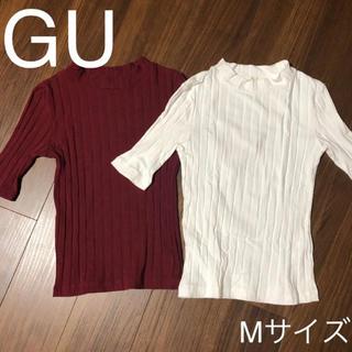 GU - GU Mサイズ トップス カットソー 2点セット