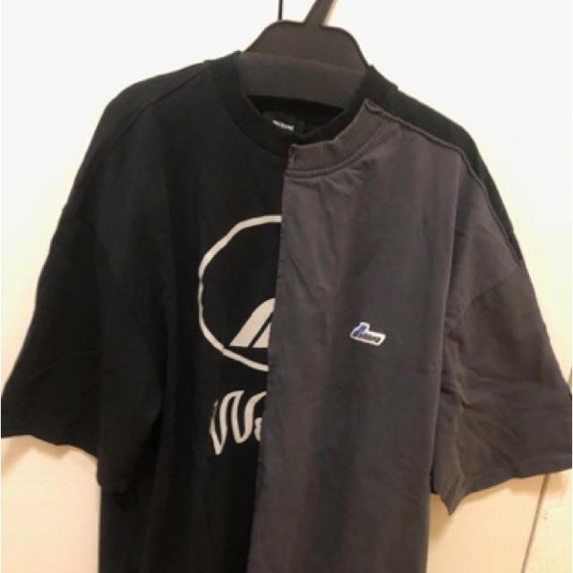 PEACEMINUSONE(ピースマイナスワン)のwe11done Tシャツ ウェルダン ロゴT メンズのトップス(Tシャツ/カットソー(半袖/袖なし))の商品写真