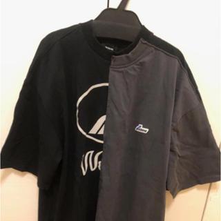 Balenciaga - we11done Tシャツ ウェルダン ロゴT