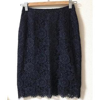 ノエラ(Noela)の新品タグ付き Noela レースタイトスカート(ひざ丈スカート)