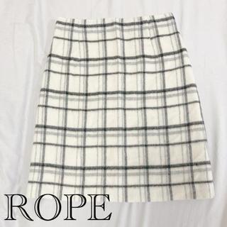 ROPE - ROPE ロペ タイトスカート チェック 秋冬