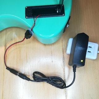 フェルナンデス(Fernandes)のZO-3用 ACアダプター 分割コネクター付(エレキギター)
