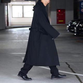 ヨウジヤマモト(Yohji Yamamoto)のyohji yamamoto  19aw フードコート REGULATION(チェスターコート)