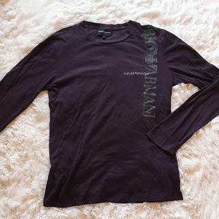 エンポリオアルマーニ(Emporio Armani)のEMPORIO ARMANI💜ロングTシャツ(Tシャツ/カットソー(七分/長袖))
