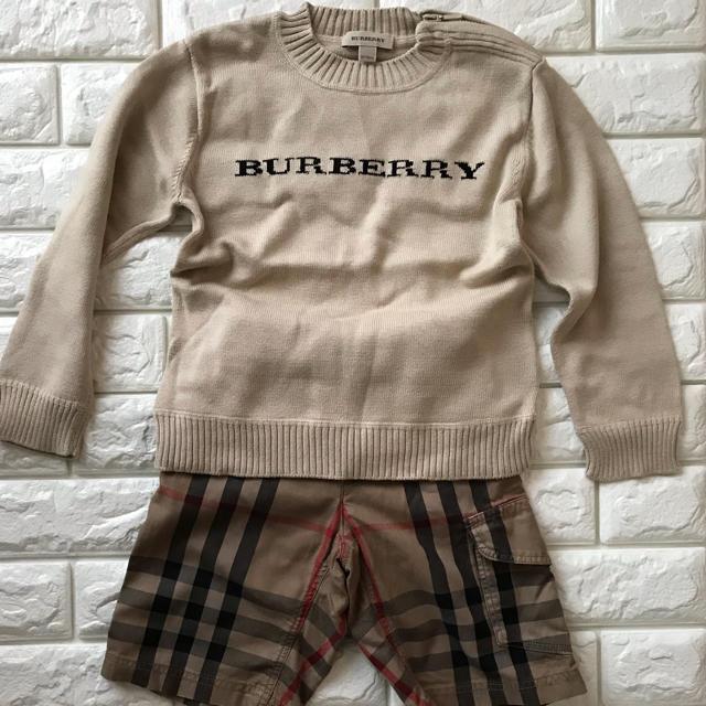 BURBERRY(バーバリー)のBurberryセーター キッズ/ベビー/マタニティのキッズ服男の子用(90cm~)(ニット)の商品写真