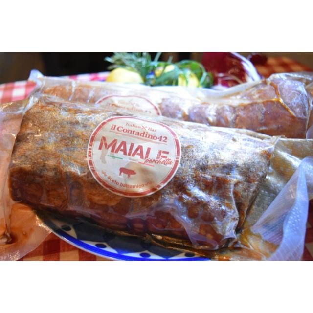 豚肩ロースのしっとりバルサミコチャーシュー オリジナル自家製 食品/飲料/酒の加工食品(その他)の商品写真