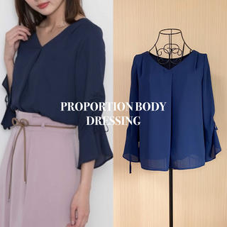 PROPORTION BODY DRESSING - PROPORTION プロポーション ブラウス