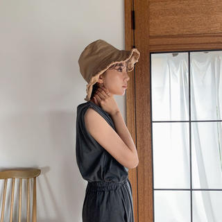 dholic - ノクチャ fringe bucket hat