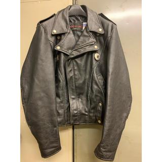 ショット(schott)のSCHOTT ダブルライダースジャケット ヨーロッパ輸出用モデル 女性の方に❗️(ライダースジャケット)