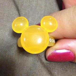ディズニー(Disney)のオレンジミッキーリング♡(リング(指輪))