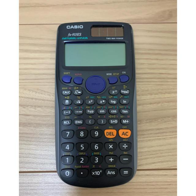 CASIO(カシオ)のCASIO 関数電卓 fx-913ES インテリア/住まい/日用品のオフィス用品(オフィス用品一般)の商品写真
