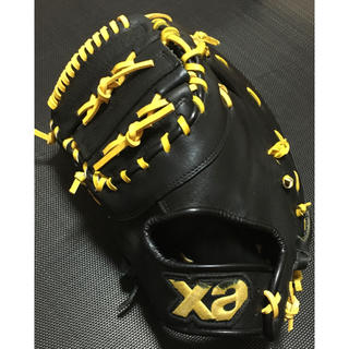 ザナックス(Xanax)のXanax ザナックス 軟式・ソフトボール兼用ファーストミット 左投げ(グローブ)