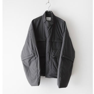 1LDK SELECT - stein PADDED DEFORMABLE JACKET Charcoal