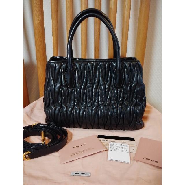 miumiu(ミュウミュウ)の[美品]miu miu ショルダーバック レディースのバッグ(ショルダーバッグ)の商品写真