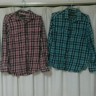 ユニクロ(UNIQLO)のフラン ネルシャツ 2枚セット(シャツ)