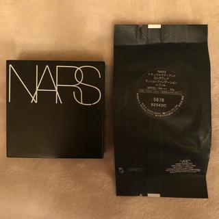 ナーズ(NARS)のナーズNARSロングウェアクッションファンデ レフィル5878 おまけケース付(ファンデーション)