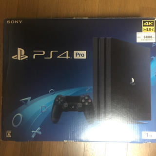 SONY PlayStation4 Pro 本体 CUH-7100BB01