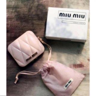 miumiu - miumiu ミュウミュウ香水のノベルティ ー ピンク ミラー  正規品